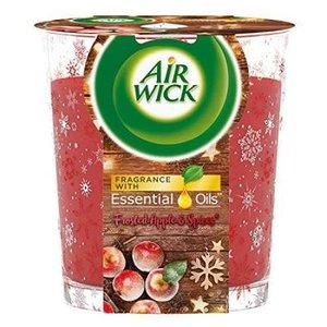 Air Wick - Frosted Apple & Spices Candle 105gr