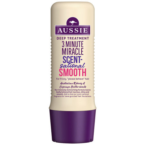 Aussie 3-Minute Miracle Scentsational Smooth Deep Treatment 250ml