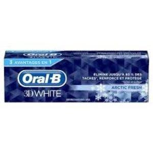Oral-B 3D White - Arctic Fresh Toothpaste 75ml