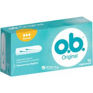 OB Tampons - Original Normal 16pcs