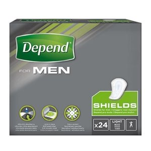 Depend Depend voor mannen protegeslip 24 stuks