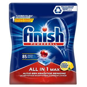 Finish Finish All In 1 Max Lemon - Vaatwastabletten 85 Stuks