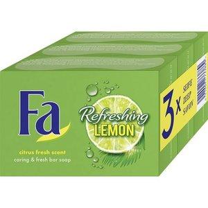 Fa Fa Refreshing Lemon - Zeep 3X100 Gram