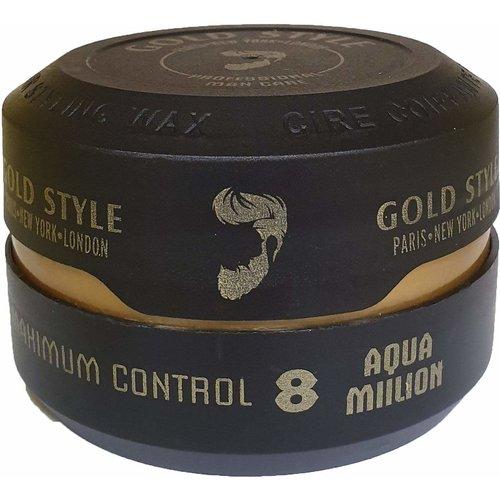 Gold Style Gold Style Styling Wax Aqua Million 8 - Haarwax 150ml