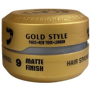 Gold Style Gold Style Styling Wax Matte Finish 9 - Haarwax 150ml
