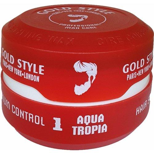 Gold Style Gold Style Styling Wax Aqua Tropia 1 - Haarwax 150ml