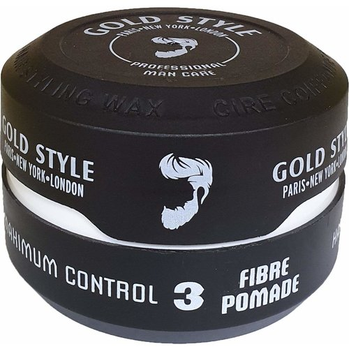 Gold Style Gold Style Styling Wax Fibre Pomade 3 - Haarwax 150ml