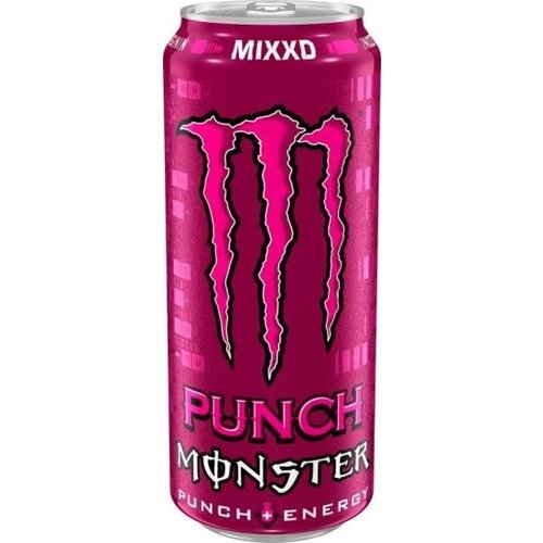 Monster Monster - Energy Punch MIXXD Energiedrank 500ml