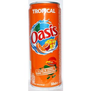 Oasis Oasis - Tropical Frisdrank 330ml