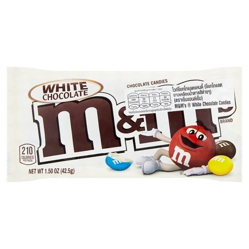 M&M's M&M's - White Chocolate 40 Gram