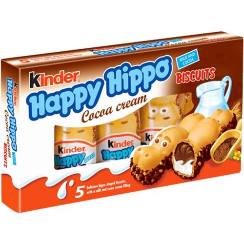 Kinder Kinder - Happy Hippo Biscuit 5x20,7 Gram