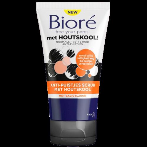 Biore Biore Anti-Puistjes - Scrub 125 ml
