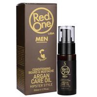 Red One  - Argan Baard & Snorolie 50ml