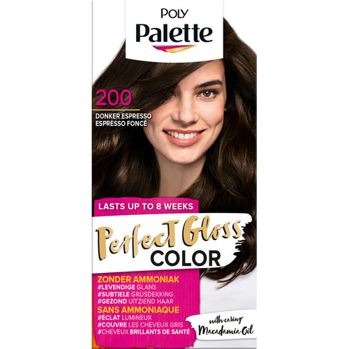 Poly Palette Poly Palette Haarverf - Perfect Gloss Color Donker Espresso 200