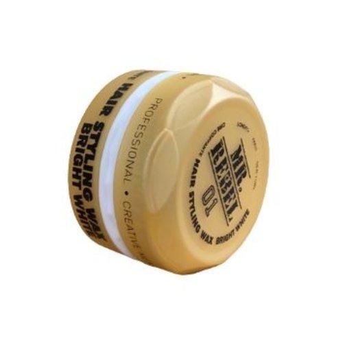 Mr.Rebel Mr.Rebel Styling Wax Bright White - Haarwax 150ml
