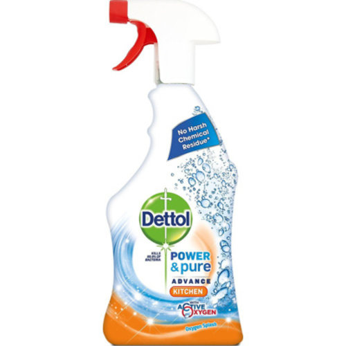 Dettol Dettol Power & Pure - Keukenspray 750ml