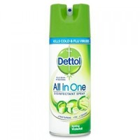 Dettol All In One Spring Waterfall - Disinfectant Spray 400ml