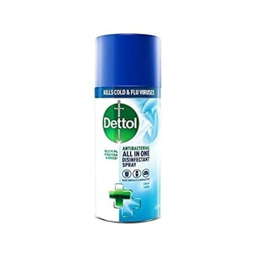 Dettol Dettol All In One Crisp Linnen - Disinfectant Spray 400ml