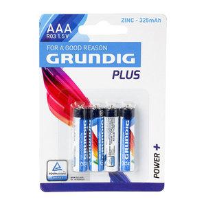 Grundig Grundig Plus RO3 AAA - Batterij 4 Stuks