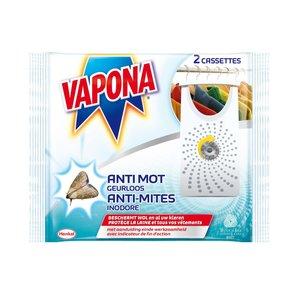 Vapona Vapona Geurloos - Anti Mot 2 Stuks