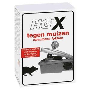 Hg Hg X Tegen Muizen - Navulbare Lokbox 2x15g
