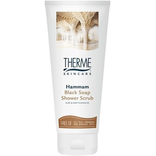Therme Therme Hammam Black Soap - Shower Scrub 200ml