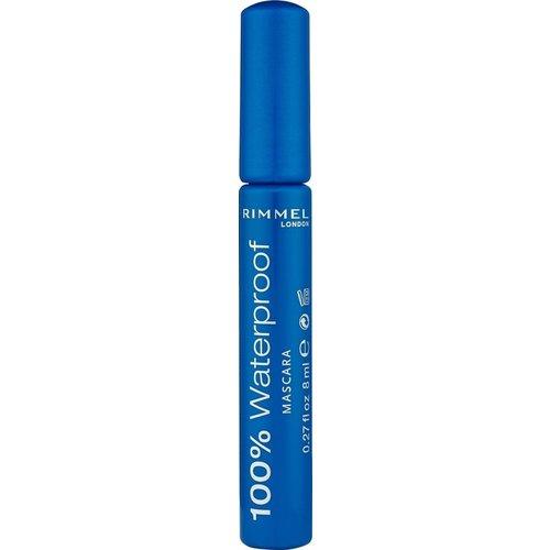 Rimmel London Rimmel London 100% Waterproof Zwart - Mascara 8ml