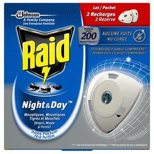 Raid Raid Night & Day - Verdamper 2 Stuks
