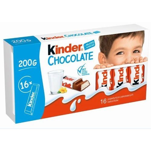 Kinder Kinder - Chocolate Reepjes 16x12,5g