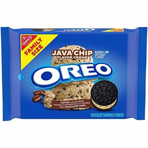 Oreo Oreo Java Chip Flavor Creme - Chocolate Sandwich Cookies 482g