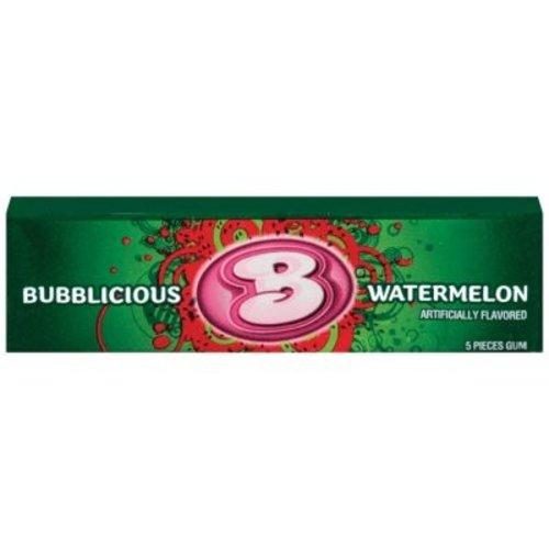 Bubblicious Bubblicious - Watermeloen Kauwgom 38 Gram