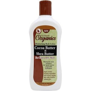Africa's Best Africas Best Ultimate Organics Cocoa Butter & Shea Butter Moisturizing  - Body Lotion 355 ml