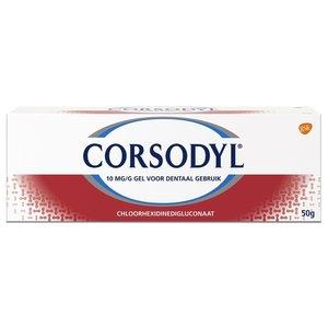 Corsodyl Corsodyl Tandgel - 50 Gram