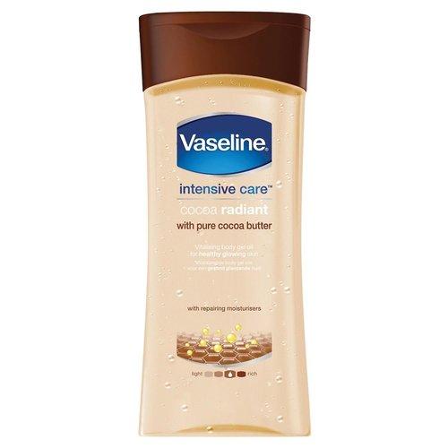 Vaseline Vaseline Body Gel Oil Radiant - Pure Cocoa Butter 200ml