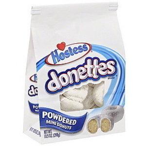 Hostess Hostess - Donettes Mini Powdered Donuts 284g