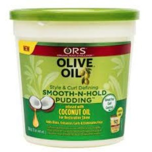 Ors Ors Olive Oil Style & Curl Defining - Smooth-N-Hold Pudding 368gr