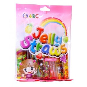 ABC ABC - Jelly Straws Snoep 13x20g