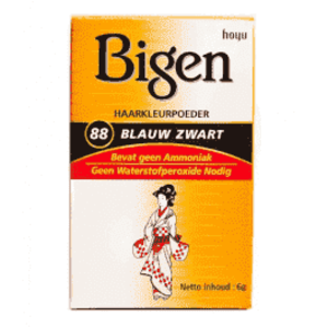 Bigen Bigen 88 Blue Black - Permanent Powder Hair Color 6g