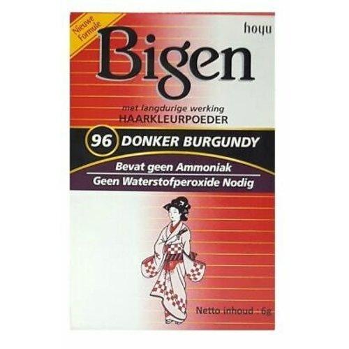 Bigen Bigen 96 Deep Burgundy - Permanent Powder Hair Color 6g