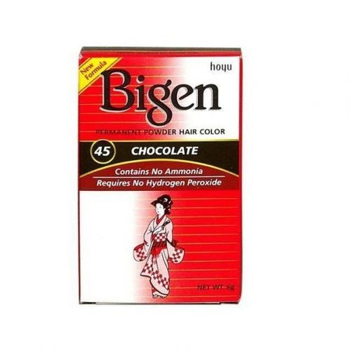 Bigen Bigen 46 Chocolate - Permanent Powder Hair Color 6g