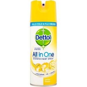 Dettol Dettol All In One Lemon Breeze - Disinfectant Spray 400ml