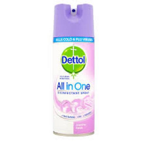Dettol Dettol All In One Jasmine Fields - Disinfectant Spray 400ml