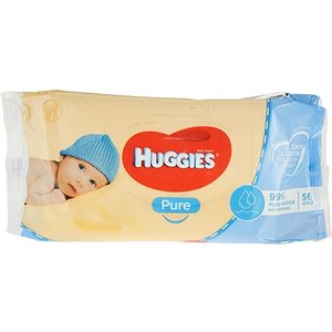 Huggies Huggies Pure - Babydoekjes 56 Stuks