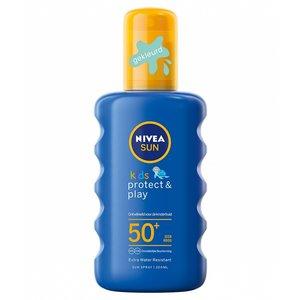 Nivea Nivea Sun Kids Protect & Play Spf50 - Zonnenbrand Spray 200ml