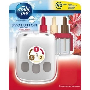 Ambi Pur Ambi Pur 3Volution 20ml Starter Spicy Apple  + Apparaat