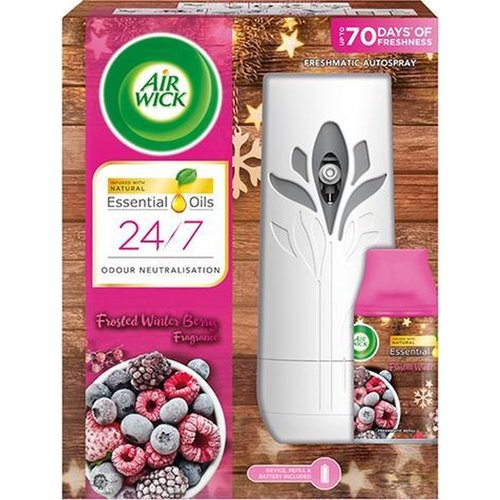 Airwick Airwick Frosted Winter Berry Freshmatic - Apparaat & Navul