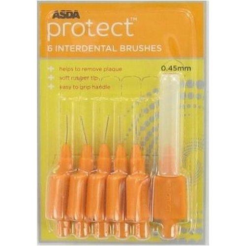 Asda Asda Protect 0,45mm - Ragers 6 Stuks