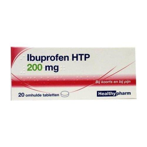 Healthypharm Healthypharm 200mg - Ibuprofen Omhulde Tabletten 20 Stuks