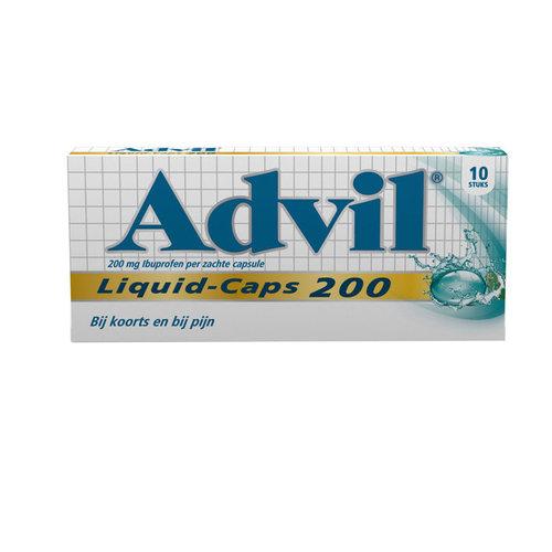 Advil Advil 200mg - Liquid Caps 6 Stuks
