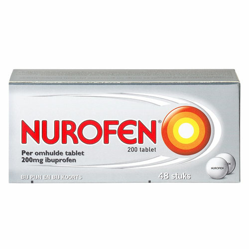 Nurofen Nurofen 200mg  - Ibuprofen 48 Omhulde Tabletten